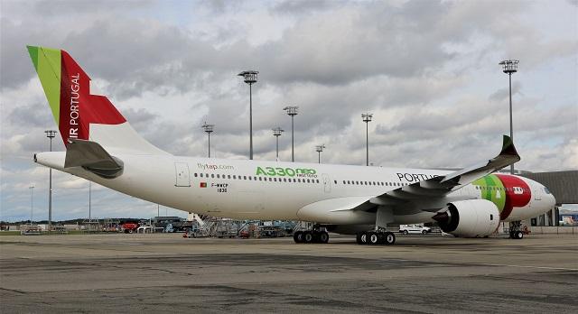 TAP A330-900 toulouse