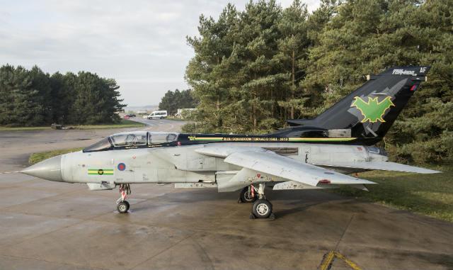Tornado GR4 9 Sqn tail - Crown Copyright