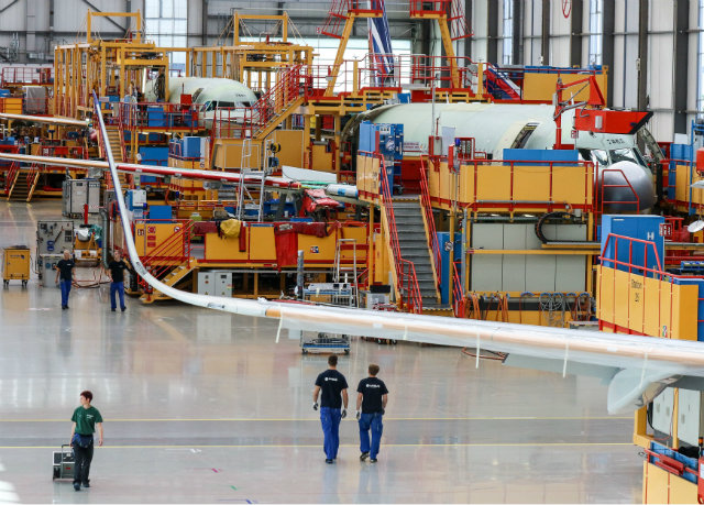 A320 assembly 640 c Focke Strangmann EPA REX Shutt