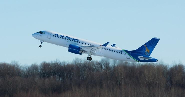 Air Tanzania first A220