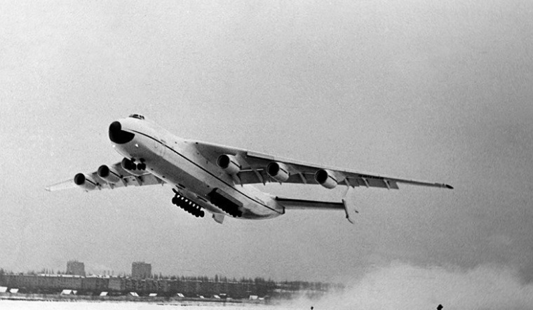 An-225 first flight