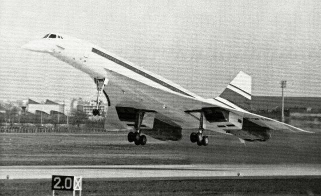 Concorde debut - AP/REX/Shutterstock