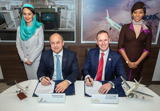 Gulf Air Etihad