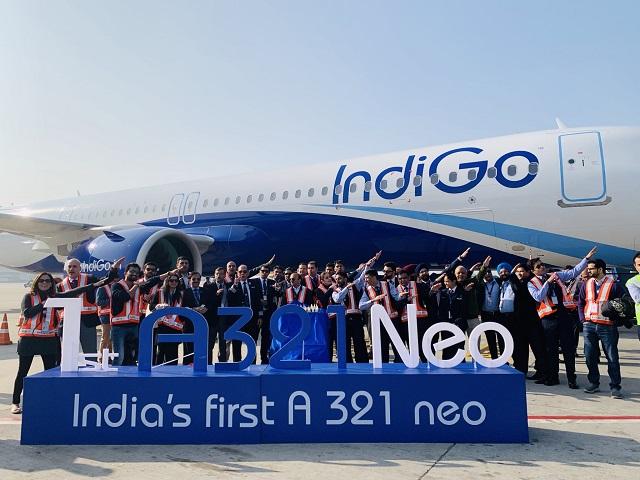 Indigo A321-3 c Indigo