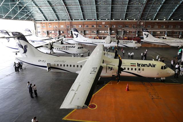 Iran Air ATRs