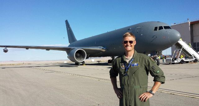 KC-46 test pilot c USAF