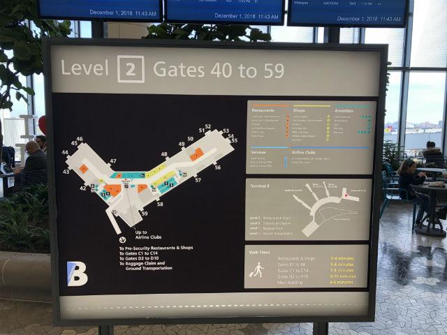LGA B map