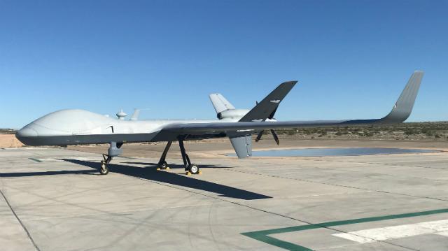 MQ-9B SkyGuardian - Garrett Reim/FlightGlobal