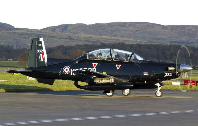RAF T-6C - Iain Mackenzie