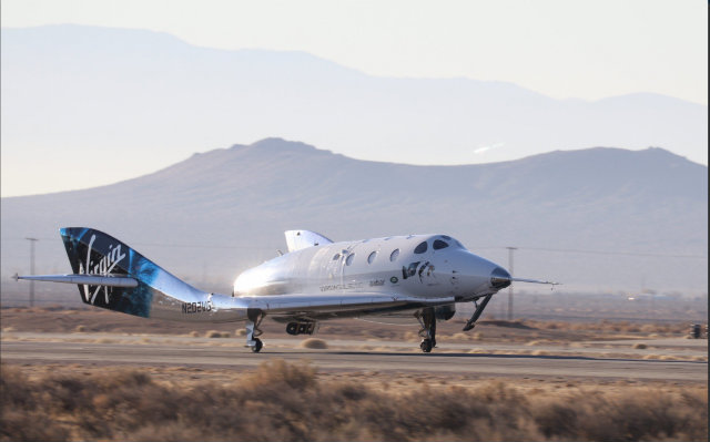 SpaceShipTwo returns, 13 December