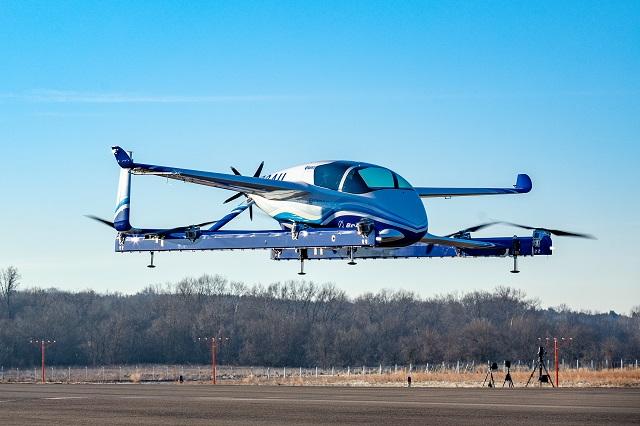 Boeing eVTOL first flight