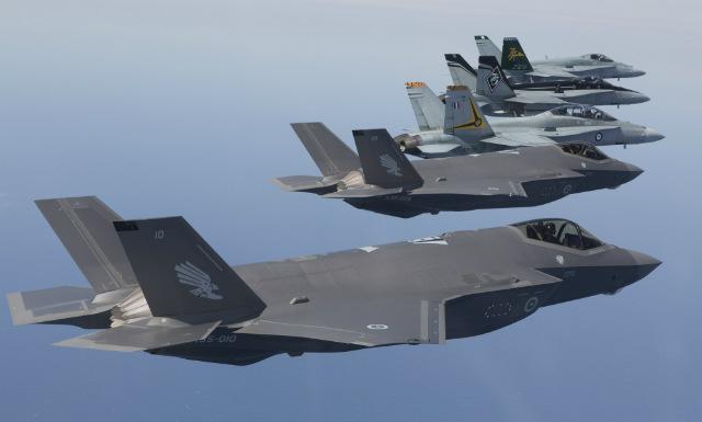 F-35As Hornets - Commonwealth of Australia