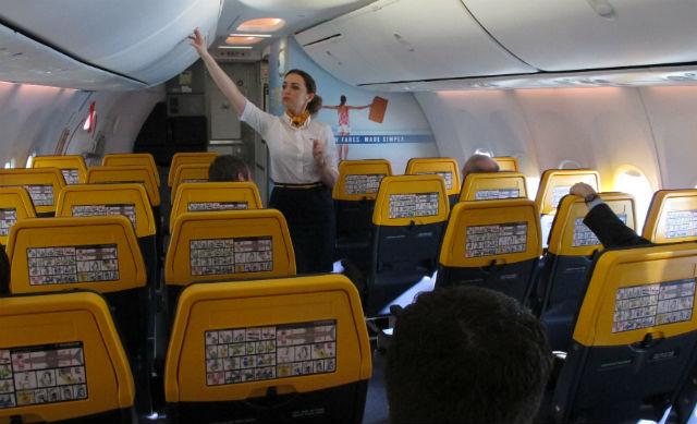 Flight attendant - Shawn Pogatchnik/AP/REX/Shutter