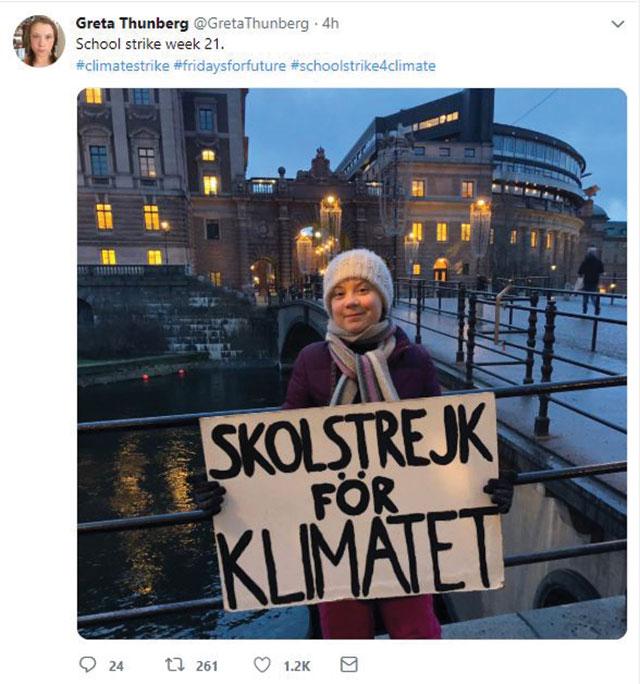 Greta Thunberg tweet 640