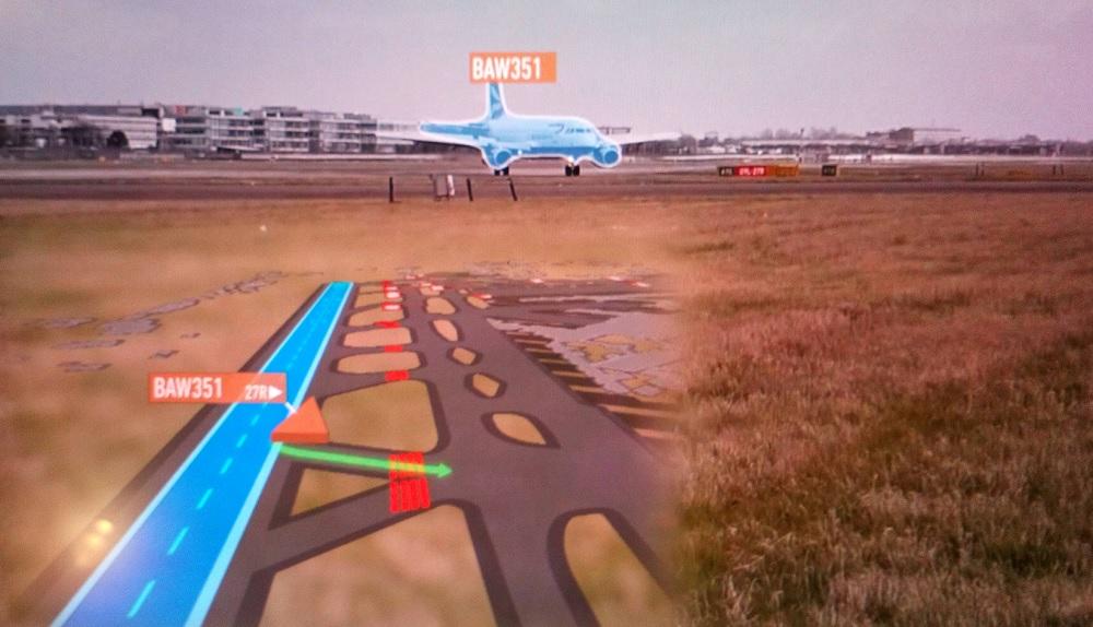 Heathrow hold-line scan with Aimee AI system