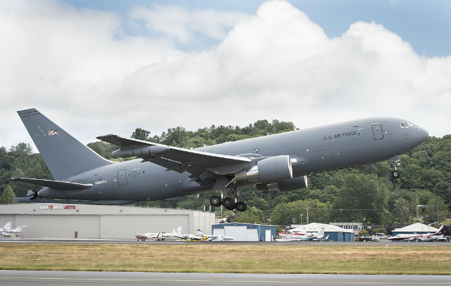 KC-46A test - Boeing