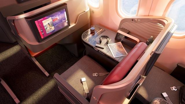 LATAM new cabin interior business class