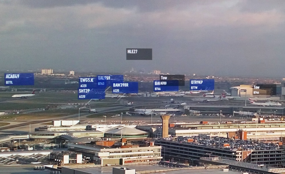 NATS Heathrow digital tower