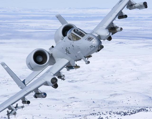Northrop Grumman Litening pod on A-10