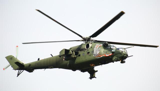 Polish Mi-24 –Jakob Ratz/Pacific Press via ZUMA W