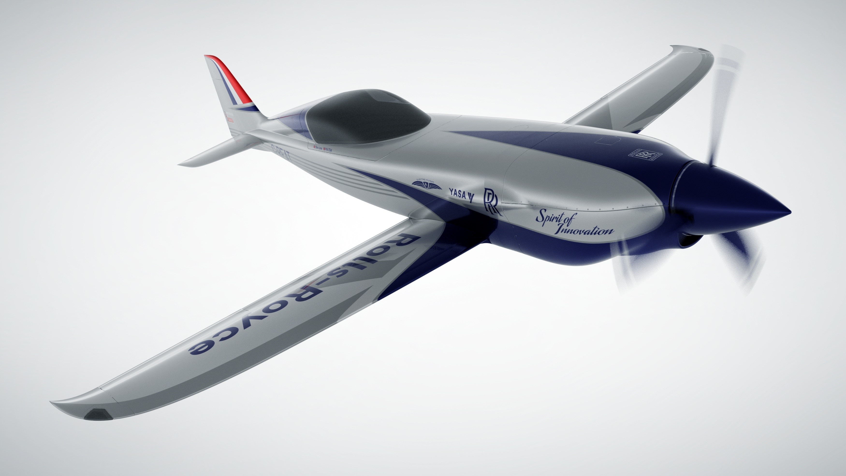 Rolls-Royce ACCEL electric race aircraft