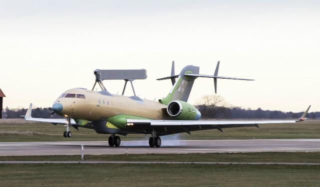 Second Saab GlobalEye lands - Saab