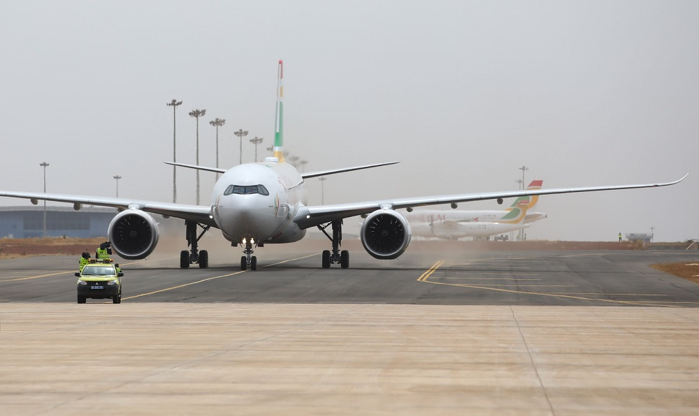 Air Senegal A330neo in Dakar