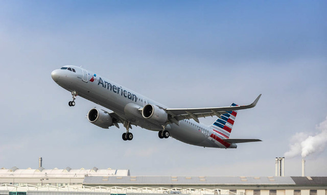 American A321neo delivery