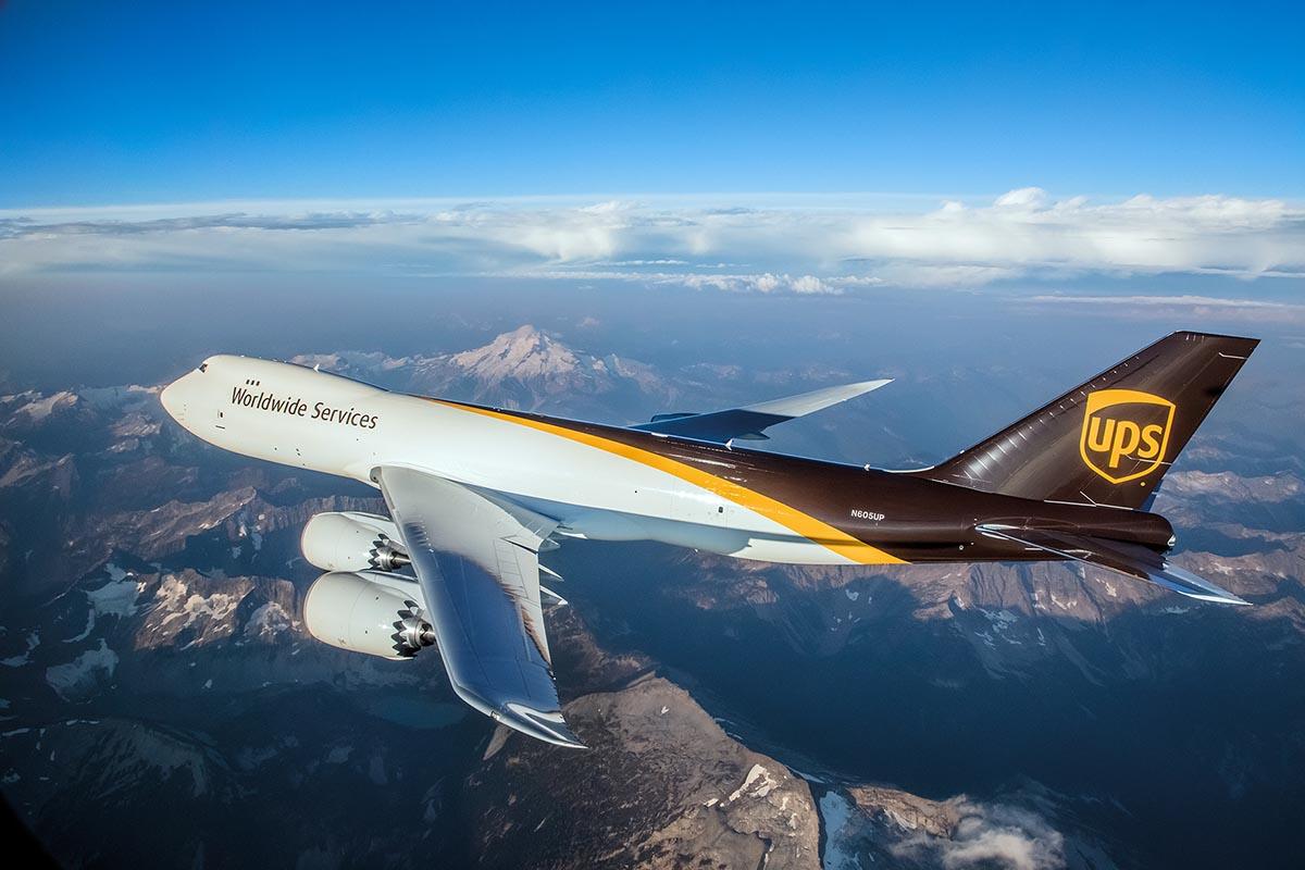 Boeing 747F UPS