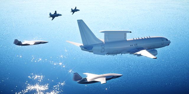 Boeing Airpower Teaming System with AEWC