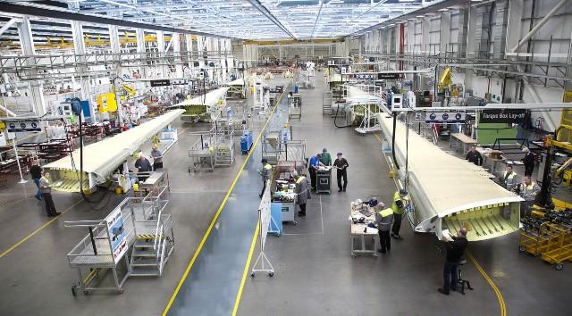 Bombardier wings factory 640 c Rex Shutterstock