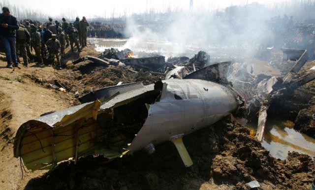 Crashed MiG-21 - REX/Shutterstock