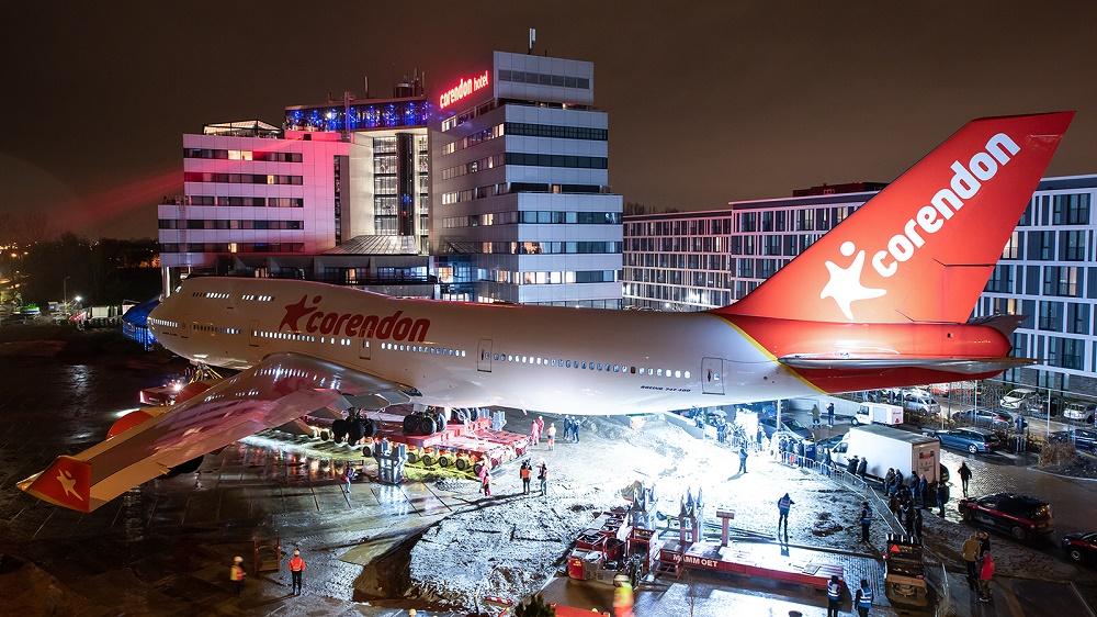 Ex-KLM 747-400 PH-BFB