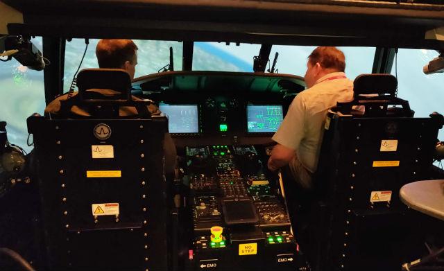 MH-60R simulator - Ellis Taylor/FlightGlobal