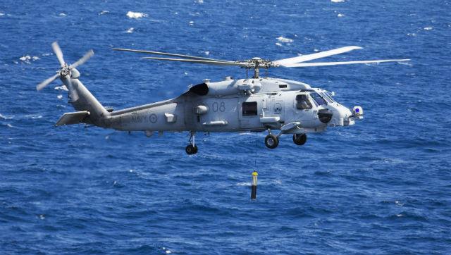 RAN MH-60R sonar - Commonwealth of Australia