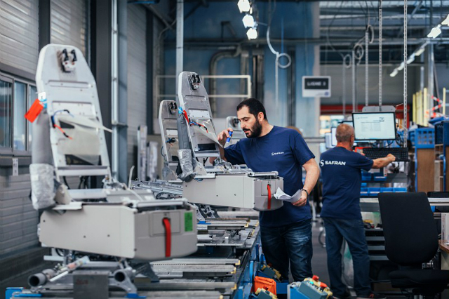 Safran seat production