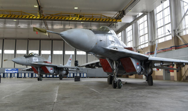 Serbian MiG-29s - Serbian defence ministry