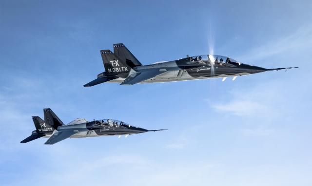 T-X pair - Boeing