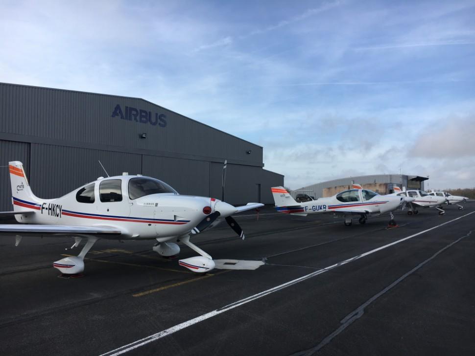 Airbus ab initio at Angouleme c Airbus