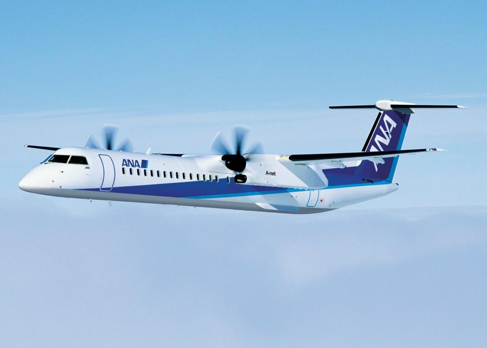 ANA Q400 c Bombardier