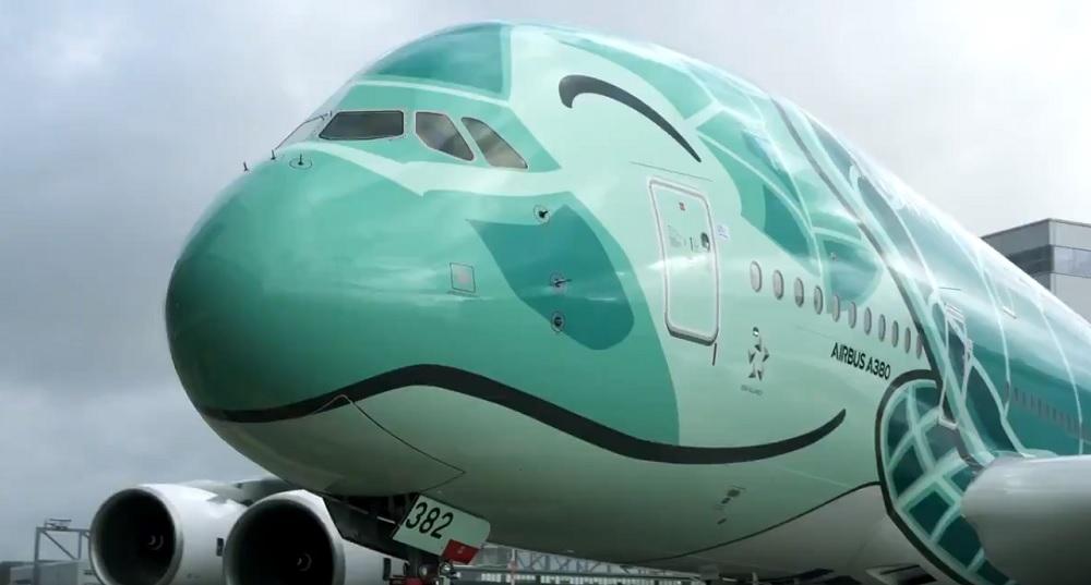 ANA second A380