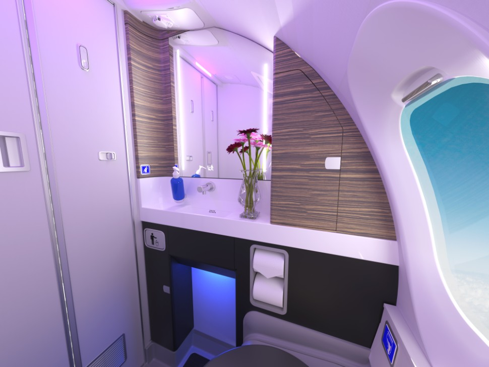 Atmosphere Lavatory MoodLighting c Bombardier