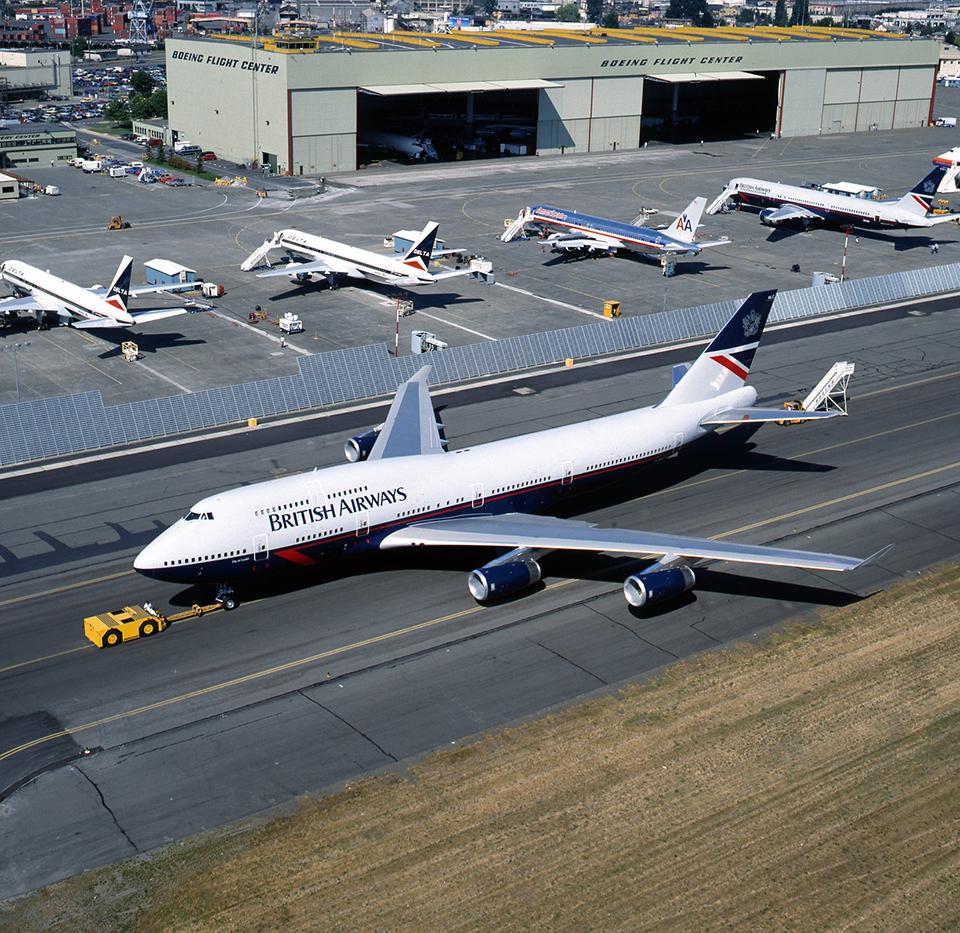 BA 747 Landor design