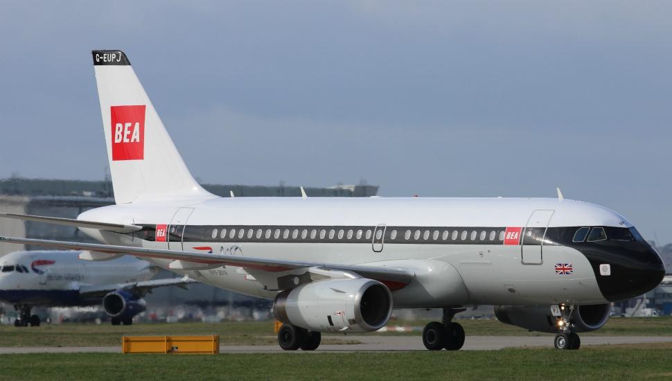 BEA A319 retrojet British Airways 1