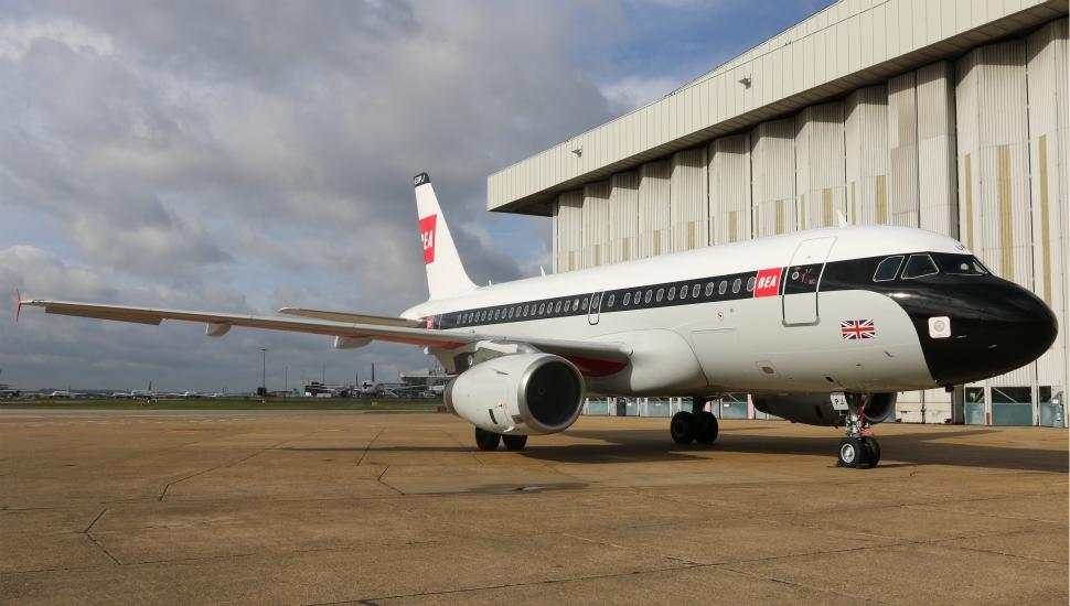 BEA A319 retrojet British Airways 2