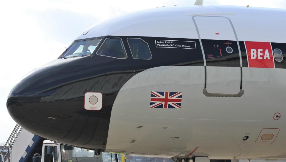 BEA A319 retrojet British Airways 3