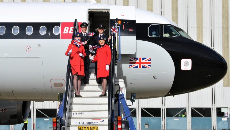 BEA A319 retrojet British Airways 4