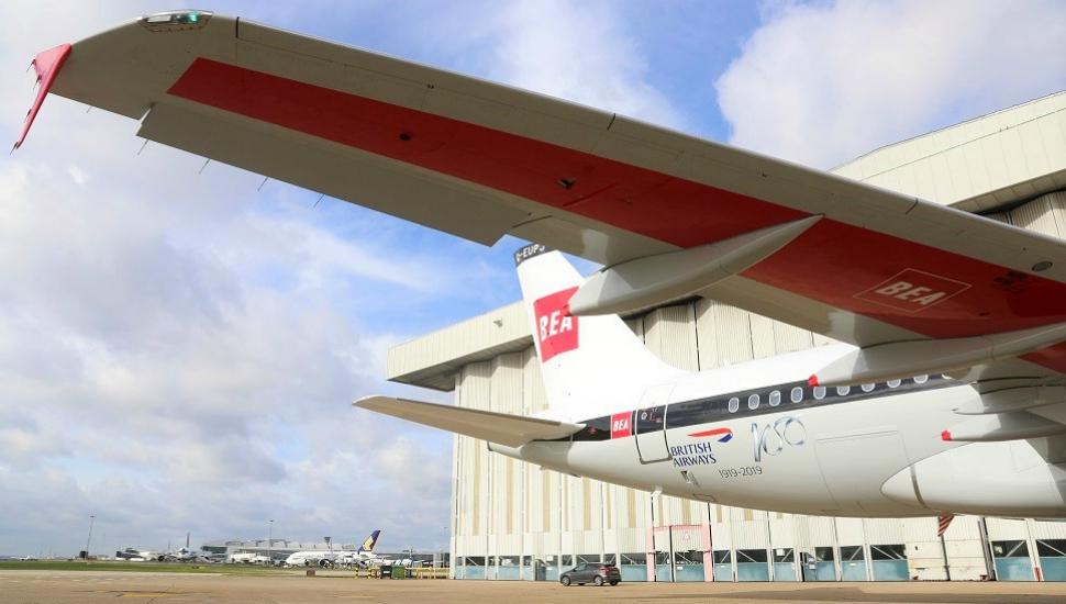 BEA A319 retrojet British Airways 5