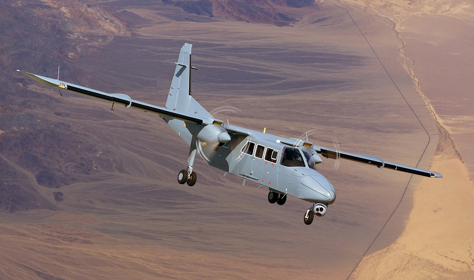 BN Islander c Britten-Norman 970