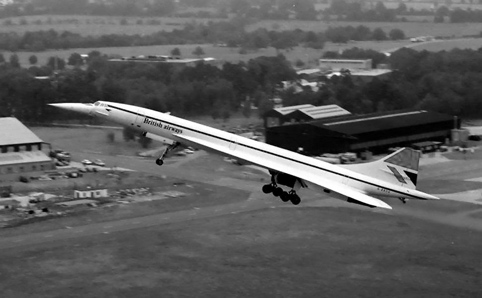 Concorde in climb FG archive